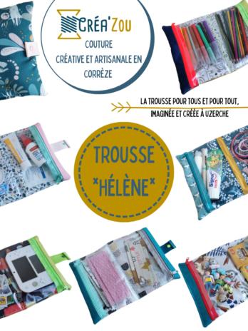 Trousse *Hélène* (sur commande)